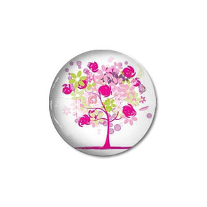 10mm 12mm 14mm 16mm 18mm 20mm 25mm 30mm Trees Round Photos Glass Cabochon Jewelry Finding fit Cameo Blank Settings