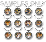 25pcs 25mm 1 inch Bottle Cap Resin Cameo Cabochon. Broken dolls