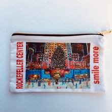 Load image into Gallery viewer, Pouch Large Rockefeller Christmas tree