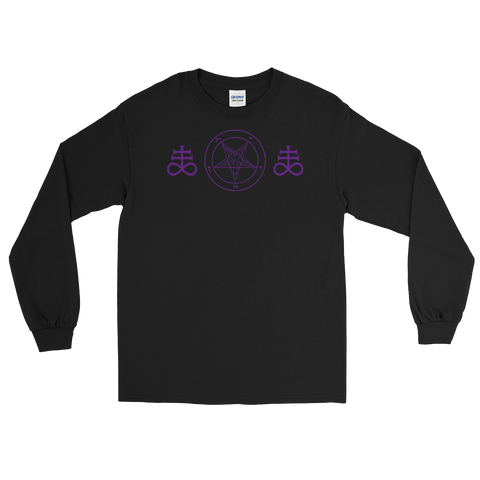 Brimstone & Baphomet Long Sleeve Shirt