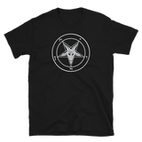 Evening Grey Baphomet Graphic Shirt