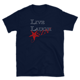 Live-Laugh-Sin Graphic Shirt