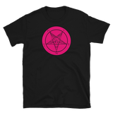 Pretty in Pink Baphomet Graphic Shirt