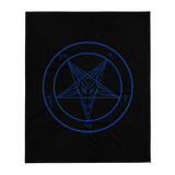 Ungodly Leviathan's Rage Baphomet Throw Blanket