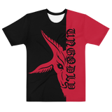 Red UnGodly Goat Men's Fit Shirt