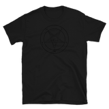 Black as Pitch Baphomet Graphic Shirt