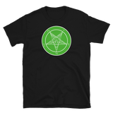 Green Envy Baphomet Graphic Shirt