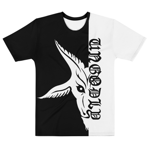 Bone White UnGodly Goat Men's Fit Shirt