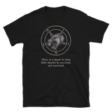 Beast in Man Quote Wolf Baphomet Shirt