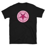 Forbidden Pink Baphomet Graphic Shirt