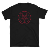 Red Baphomet Graphic Shirt