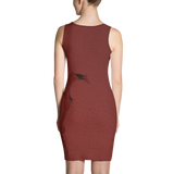 Red Gradient Chapter Dragon Dress
