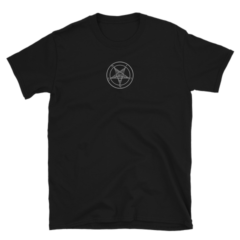Embroidered Baphomet Shirt