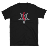 "Anton LaVey Sigil ""Red"" Graphic Shirt"