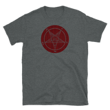 Ungodly Satanme Baphomet Graphic Shirt