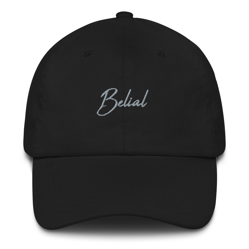 Belial Unstructured Twill Cap