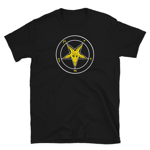 Evening Light Baphomet Graphic Shirt