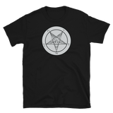 Storm Grey Baphomet Graphic Shirt