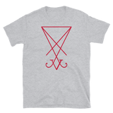Lucifer Sigil Red Graphic Shirt