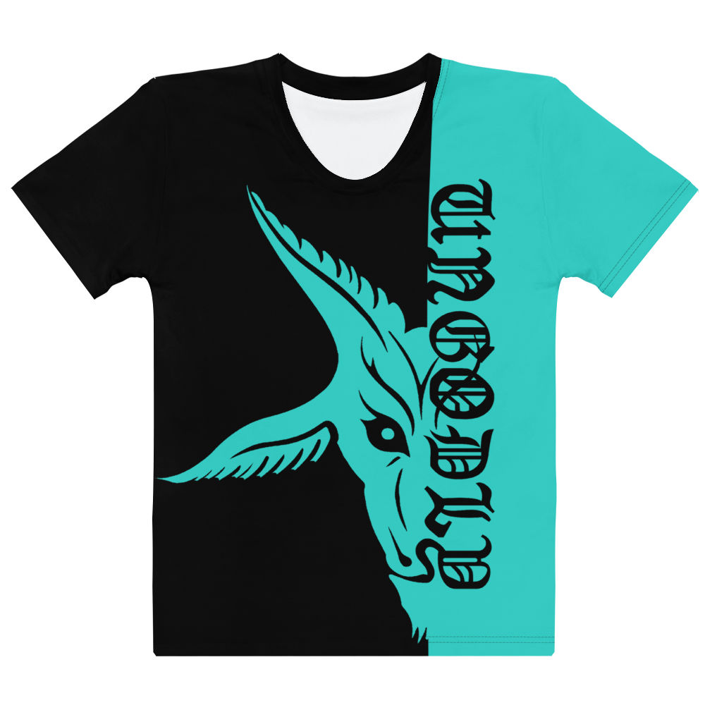 Teal UnGodly Goat Women's Fit Shirt