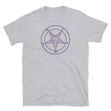 Purple Baphomet Graphic Shirt