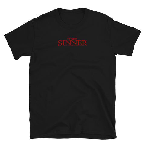 Proud Sinner Graphic Shirt