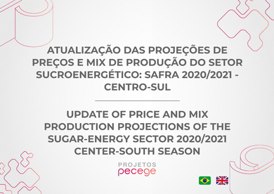 Update of price and mix production projections of the sugar-energy sector: 2020/2021 Center-South season