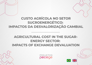 Agricultural cost in the sugar-energy sector: Impacts of exchange devaluation
