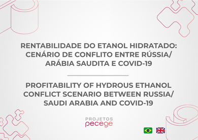 Profitability of hydrated ethanol: Conflict scenario between Russia/Saudi Arabia and Covid-19