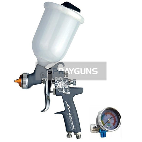 Anest Iwata Az3 Hte-S Grey Bulldog Limited Edition Gravity Spray Gun