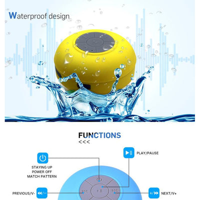 -Ready to Ship | Waterproof Portable Mini Bluetooth Speaker-