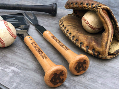 Limited Edition BBQ Tools for 100th Anniversary Negro Leagues Baseball Museum Art Benefit