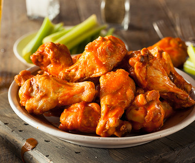 Eats: Grilled Chicken Buffalo Wings