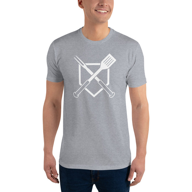 Crossed Plate Men's T-Shirt