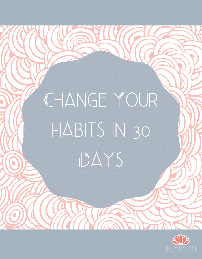 30-Day Journal to Change Your Habits