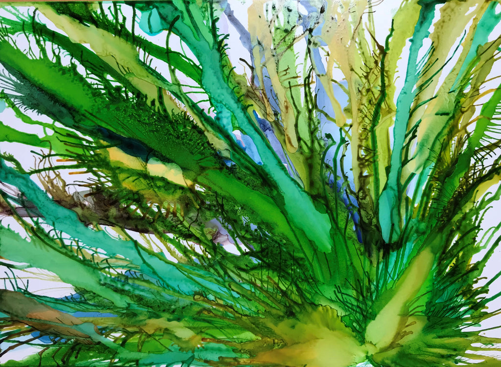 """Costa Rica"" Alcohol Ink"