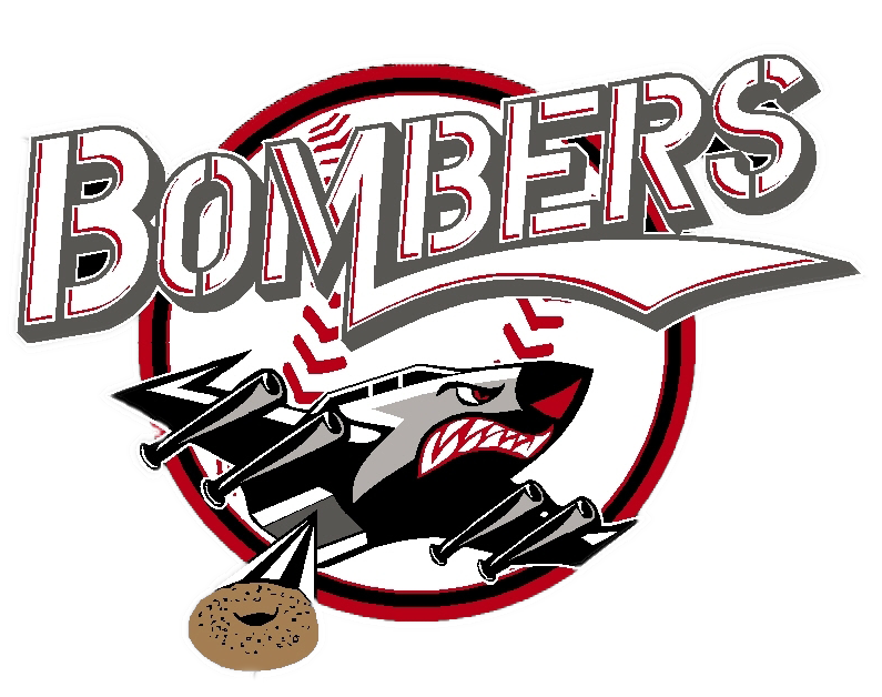 Bagel Bombers Car Sticker (5 Inches)
