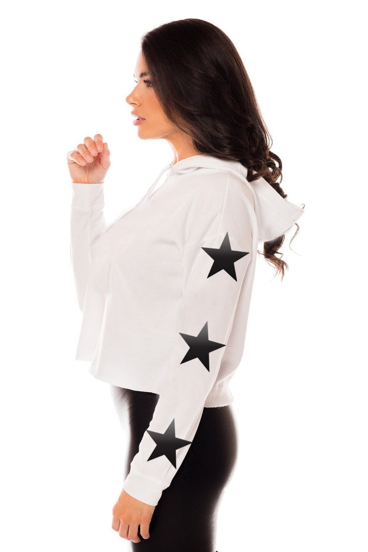 Baby You're A Star Cropped Hoodie
