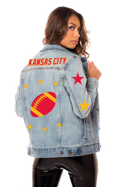 Kansas City Blue Denim Jacket