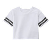 Cropped Knockout T-Shirt