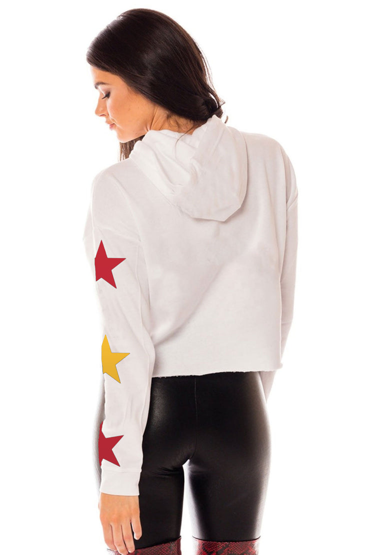 Friday Night Lights Cropped Hoodie