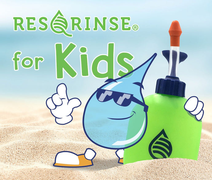 Nasal Rinsing for Kids: Your Gag-Free Solution
