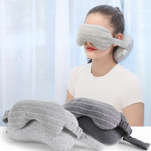 Load image into Gallery viewer, Travel Neck Pillow & Eye Pillow