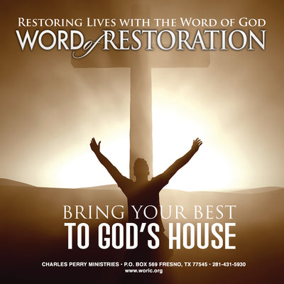 Bringing Your Best to God's House: The Place of Worship Vol. III (2013)