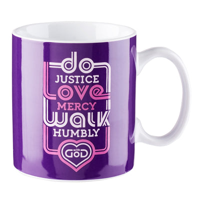 Do  Justice, Love Mercy, Walk Humbly Coffee Mug