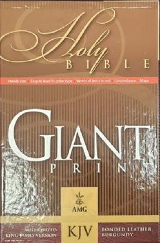 KJV Holy Bible Giant Print
