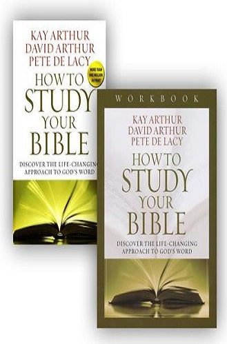 How to Study Your Bible Book & Workbook
