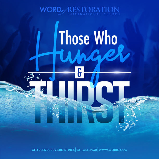 Those Who Hunger and Thirst (2019)