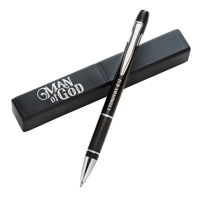 Man of God - 1 Timothy 6:11 Gift Pen