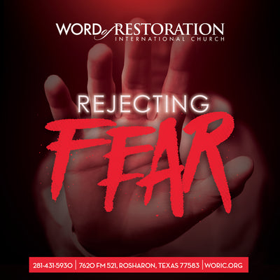 Rejecting Fear Lesson #1 (7:45am)